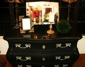 Lovely French Three Drawer Chest