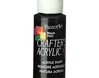 Black Acrylic Paint (2oz)