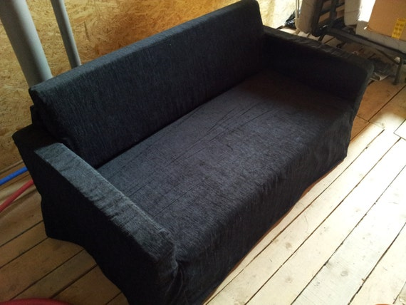 Slipcover For Solsta Sofa Bed From Ikea Black Colour