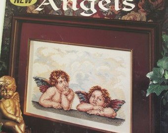 Counted Cross Stitch Pattern Booklet  used  Raphael's Angels