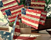 QUILTED MINI FLAGS American Price is for any 3 flags.