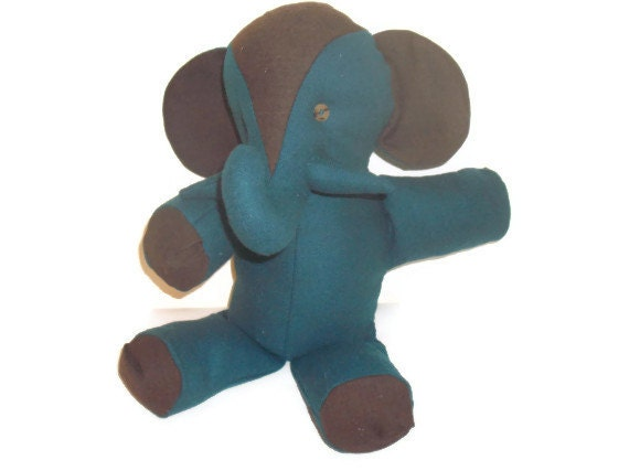 Stuffed Elephant Toy--Don