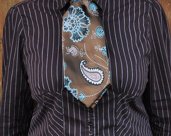 Victorian Paisley Ascot/Cravat