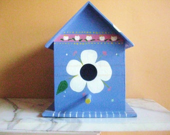 Bird House Decorative Hand Painted