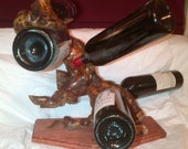 Reserved - Old Vine Zin Sculpture Wine Rack