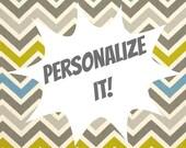 Personalized Option- Custom Photo Frames