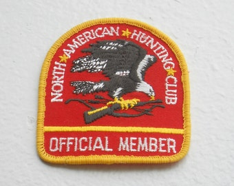 Vintage North American Hunting Club Patch 1980's