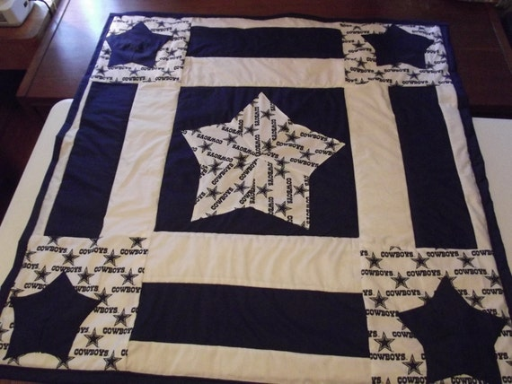 Dallas Cowboy Quilt By Kelcreations08 On Etsy