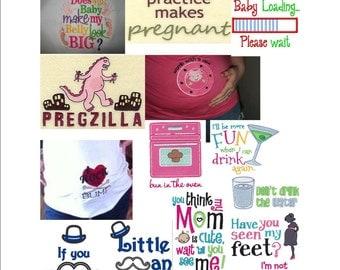 Maternity Shirt - You Pick Design - Maternity Shirt - maternity - Maternity Clothes - Maternity Tee - Funny Maternity