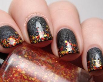 Napalm Bomb - Full Size Custom Glitter Nail Polish