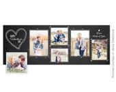 INSTANT DOWNLOAD - Valentine Facebook Timeline Cover template - E654