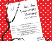Nursing Party/Graduation Invitation