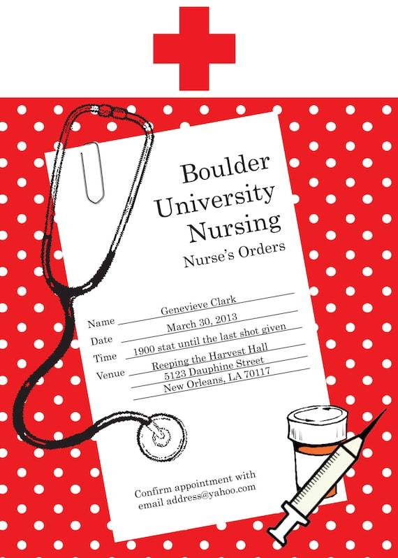 Nursing School Graduation Invitations is beautiful invitations ideas