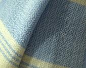 Baby Blanket, Hand-Woven