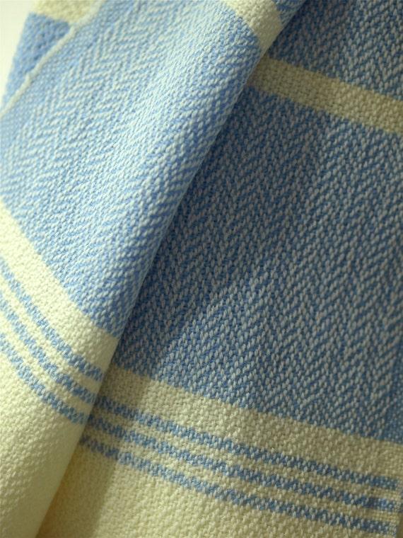 Baby Blanket, Hand-Woven, Wool