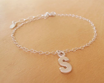 Mini Monogram Silver Bracelet SALE