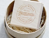 Custom logo stamp, we make logo stamps from your artwork, up to 1.50""