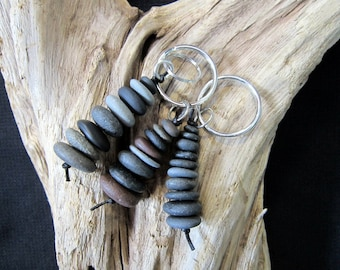 Lake Superior Stone Keychain