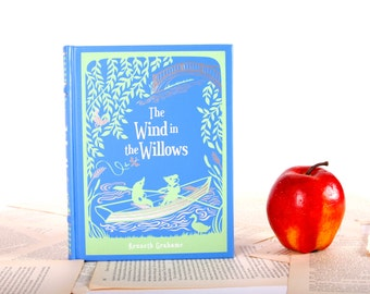 Kindle Cover or Nook Cover- Ereader Case made from a Book- Wind in the Willows