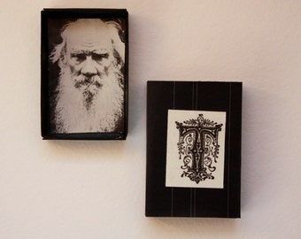 T is for Tolstoy ABC mini gift box