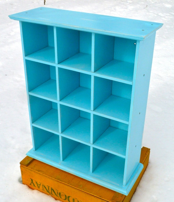 Cubby Storage Shabby Chic Cubby Wall Shelf