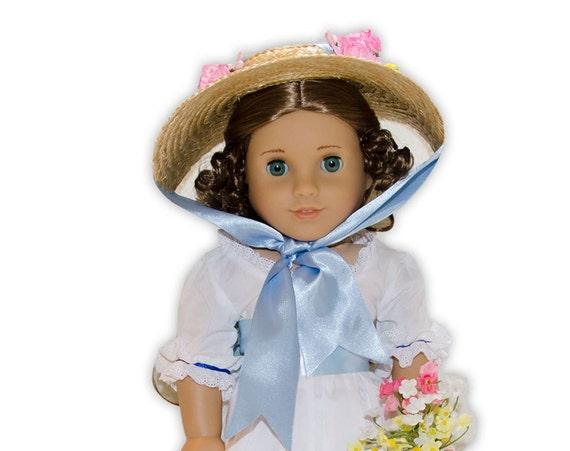 Austentation Jane Austen Georgian Regency Style American Girl Doll Bergere Hat For Felicity
