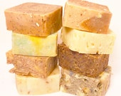 Soap - 8 for 38 -100% Natural Handmade Cold Process Soap Savon From Scratch - SLS and Paraben Free