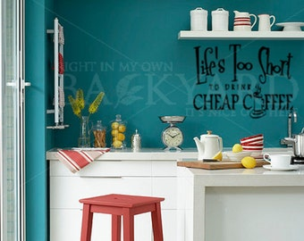 Kitchen Wall Art for Coffee Lovers