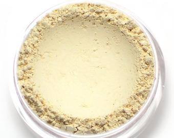 "Matte Ivory Eyeshadow - ""Meringue"" - matte ivory offwhite - Vegan Mineral Eyeshadow Net Wt 2g Mineral Makeup Pigment"