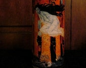 Witches and Wolves Candleholder