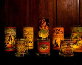My Gypsy Collection Candleholders ~ Third eye, tarot, altar, ritual, apothecary, witchery, decor, decorations, candles, fortune teller
