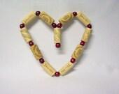 Wine Cork Trivet Heart