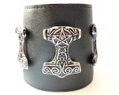 Thors Hammer, 10 pentagram charms. Custom order.