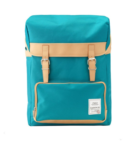 Colorful Big Backpack (Turquoise)
