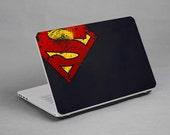 "superman transformer batman twilight laptop notebook netbook sticker art decal vinyl skin 10"" 14"" 15"" 17"""