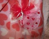 Valentine's Scarf Heart Scarf Pocket Scarf