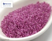 20g Seed beads 11/0 Pale Fandango Pink Lined Seed Bead Rocailles NR 92 Pink seed beads