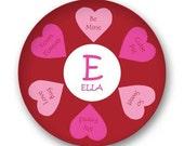 Valentine Melamine Plate