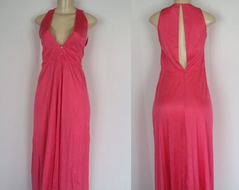 Vintage Pink Negligee Nightgown