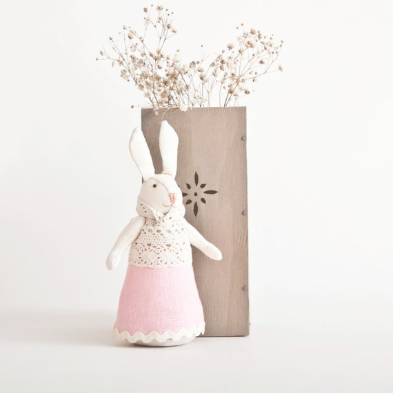 Http Www Etsy Com Listing 122172638 Easter Bunny Rabbit Handmade Home Decor