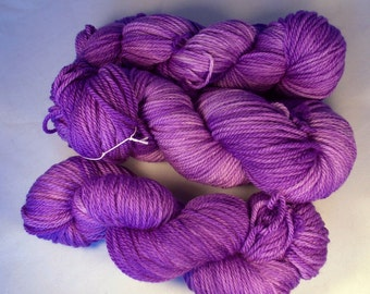 Purple People Eater on Aran SW Merino