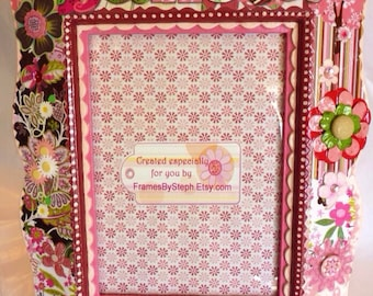 Customized Embellished & Personalized Picture Frame