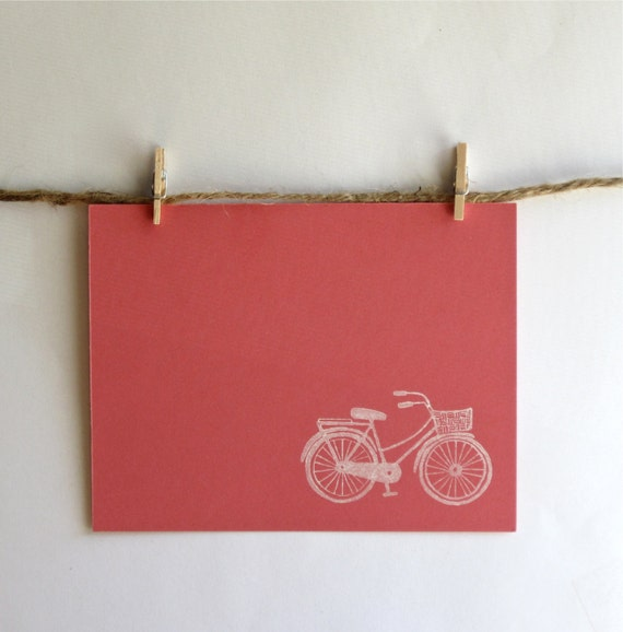 Bicycle Notecard Stationery Set