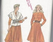 Vogue 8395 Dress & Jacket Pattern Size 12-14-16