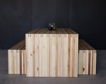 8' bento dining table