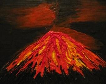 The Volcano is erupting