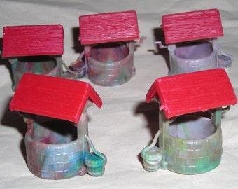 Miniature Wishing Well.......      Free Shipping JC1