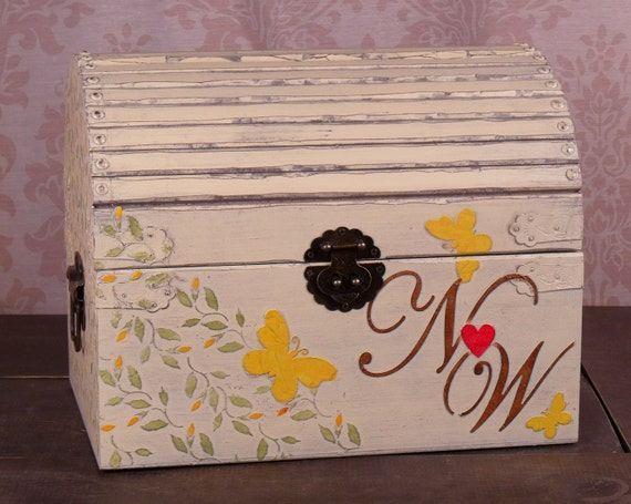Butterfly Wedding Gift Card Box : ... Plates Dolls & Miniatures Figurines Music Boxes Postage Stamps