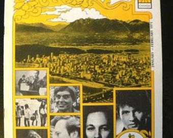 vintage magazine ... BMI The MUSIC Scene Mag cover VANCOUVER 1971  ...