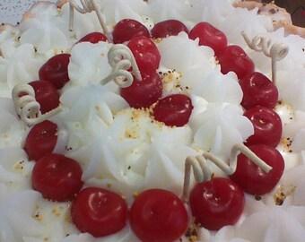 Cherry Candle Pie 9'
